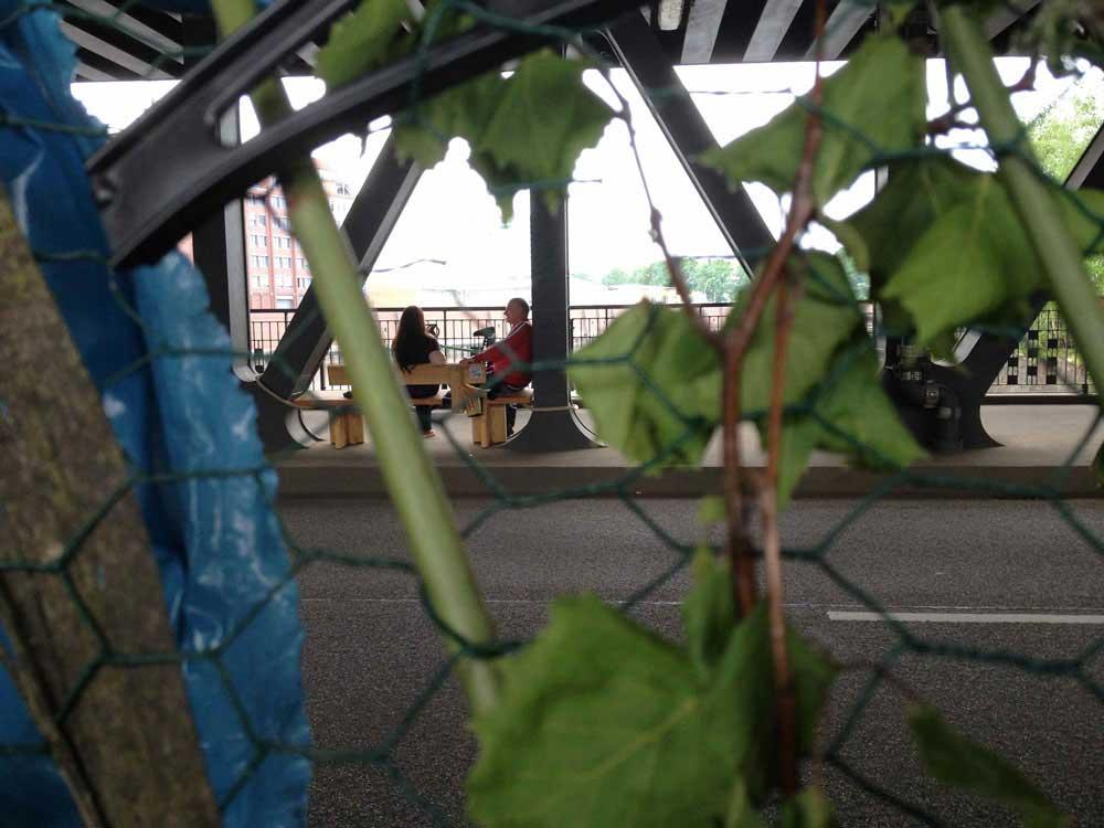 Beobachtungen auf der Brücke
