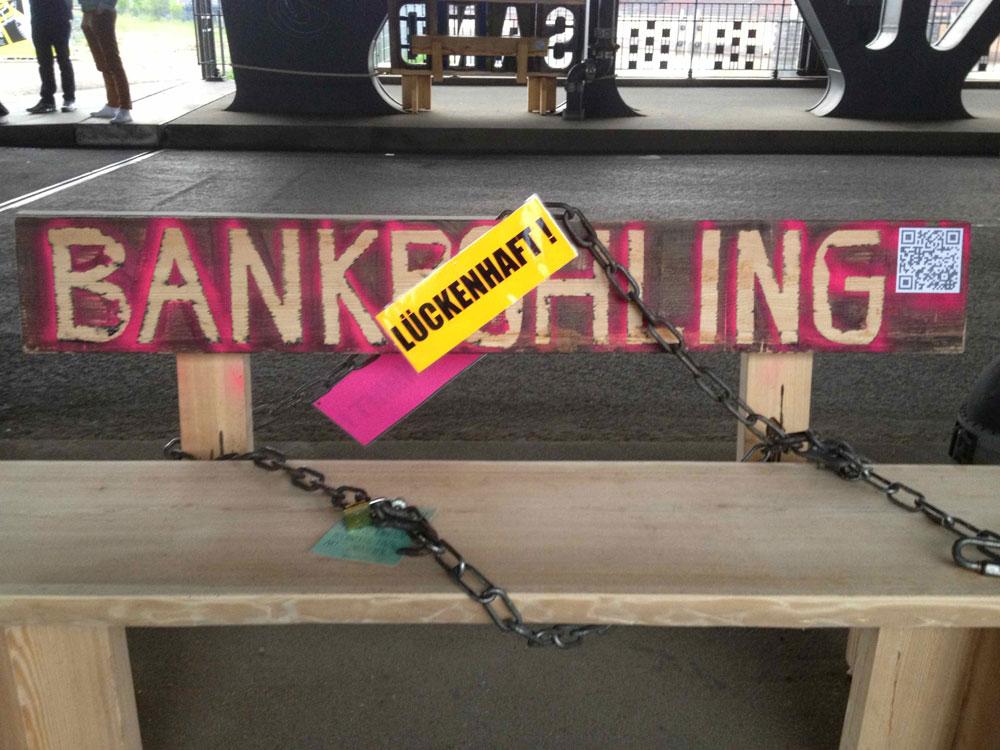 Bankrohling im Projekt mobile banking